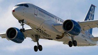 Bombardier CS100 passenger jet