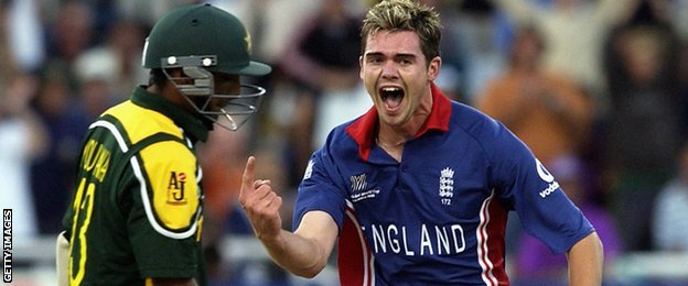 Yousuf Youhana and James Anderson