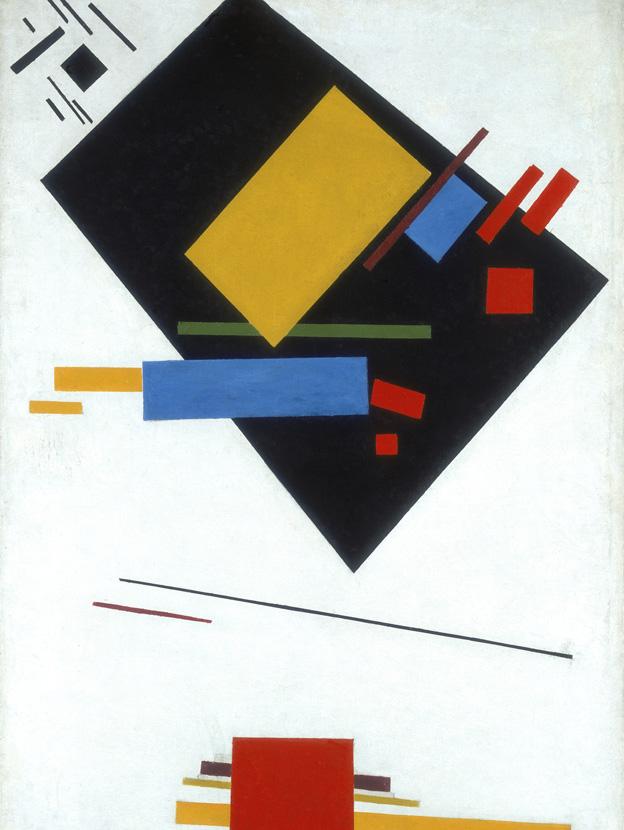 Trapezium by Kazimir Malevich