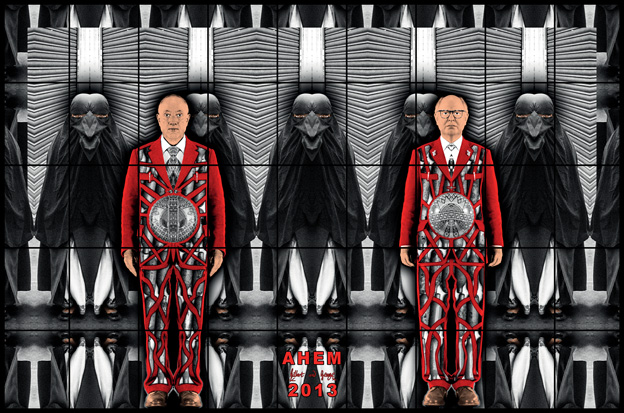 Ahem by Gilbert & George