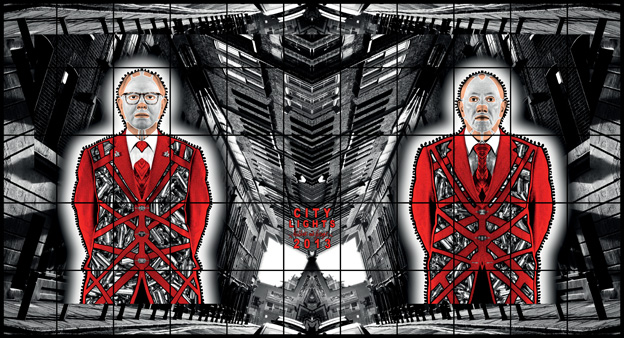 City Lights by Gilbert & George