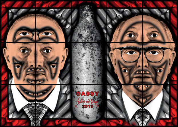 Gassy by Gilbert & George