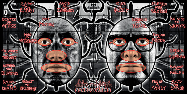 Scapegoating by Gilbert & George