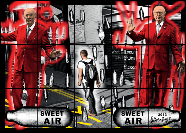 Sweet Air Sweet Air by Gilbert & George