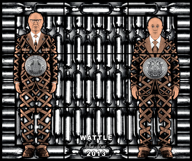 Wattle by Gilbert & George