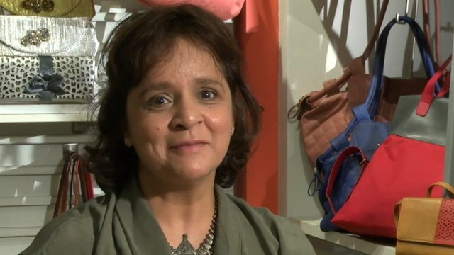 Baggit founder Nina Lekhi