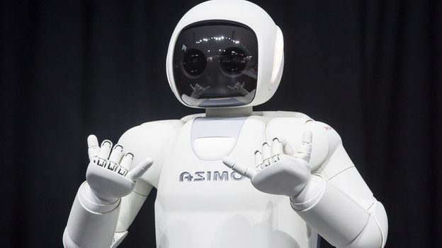 ASIMO (Advanced Step in Innovative Mobility) the humanoid robot