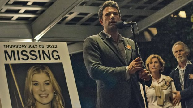 Ben Affleck (centre) in Gone Girl