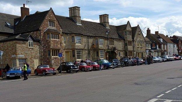 Stilton in Cambridgeshire
