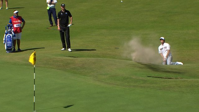 Jones chips in from the bunker