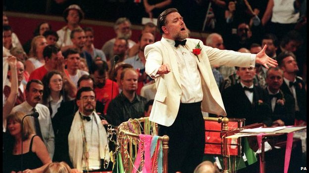 Sir Andrew Davis at the Last Night of the Proms