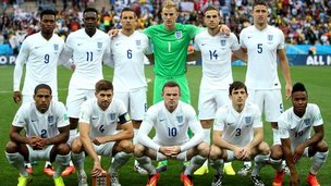 England football team group photo