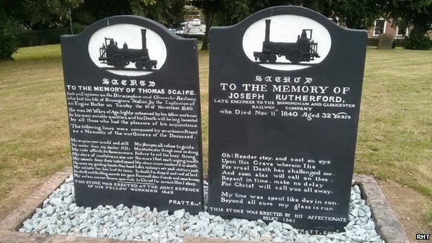 Restored graves