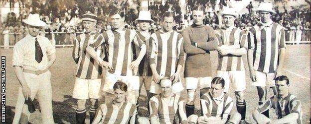 Exeter City Football Club 1914