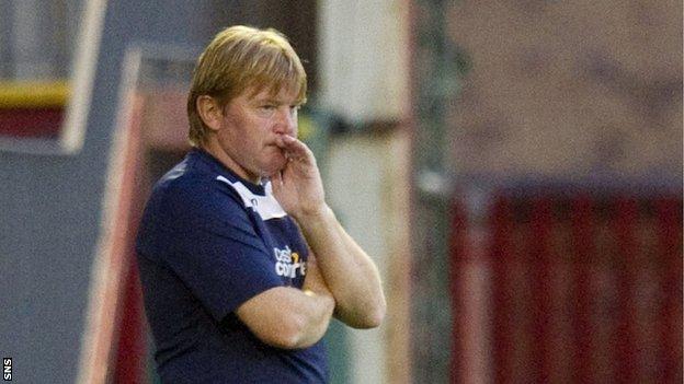 Motherwell boss Stuart McCall