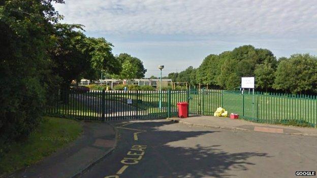 St Giles' Junior School in Exhall