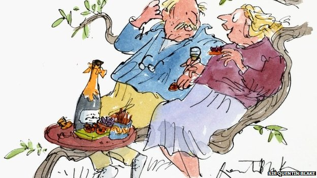 Celebrating in style by Sir Quentin Blake