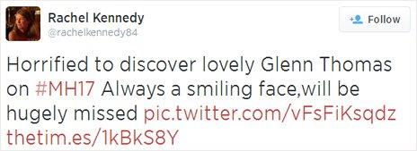 Rachel Kennedy tweet