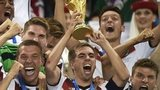 Philipp Lahm lifts World Cup