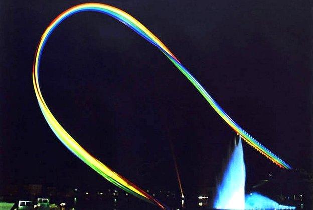 Otto Piene's Olympic Rainbow