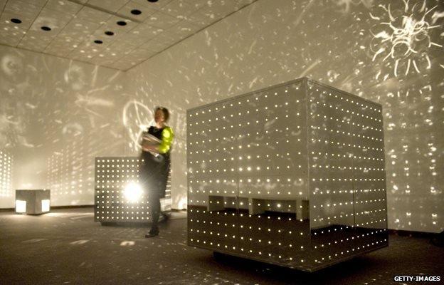 Otto Piene's Lichtraum (light room)