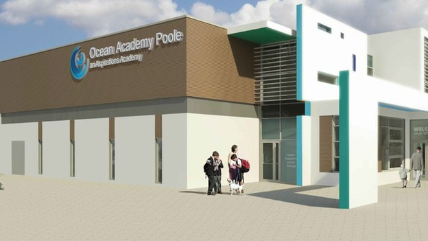 New Poole school plans