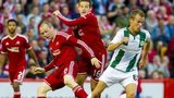 Aberdeen in action against Groningen