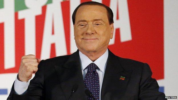 Silvio Berlusconi - file pic