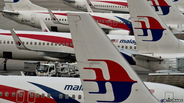 Malaysia Airlines planes