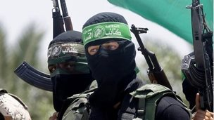 Members of Hamas' armed wing