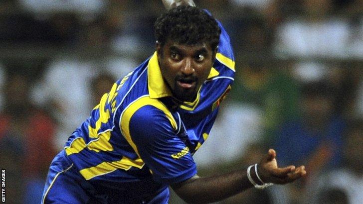 Former Sri Lanka spinner Muttiah Muralitharan