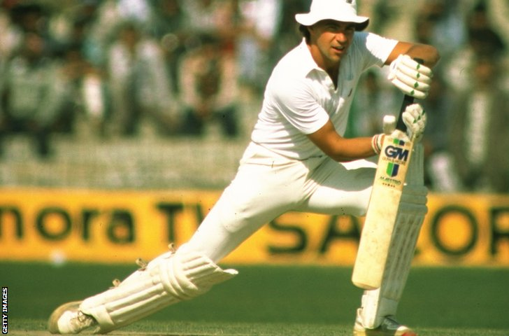 Former England batsman Tim Robinson