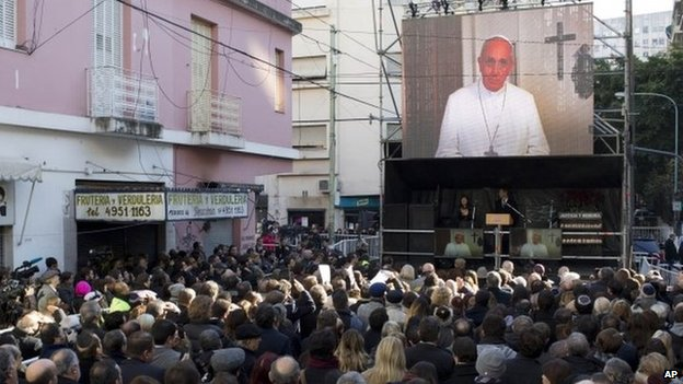 Pope Francis delivers recorded message to the Jewish Community