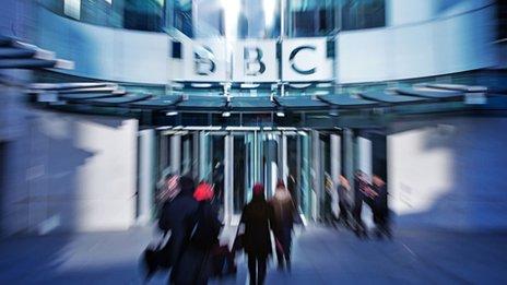 generic shot of BBC