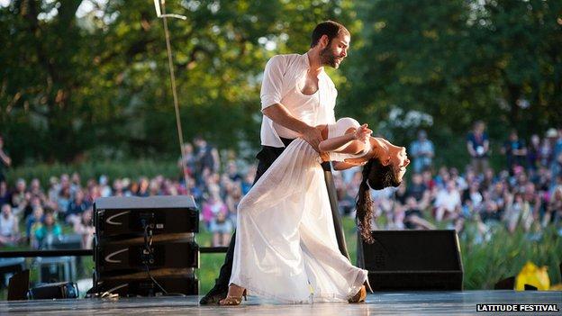 Tango at Latitude Festival
