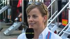 Williams development driver Susie Wolff
