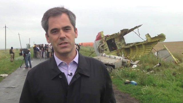 Daniel Sandford in Ukraine
