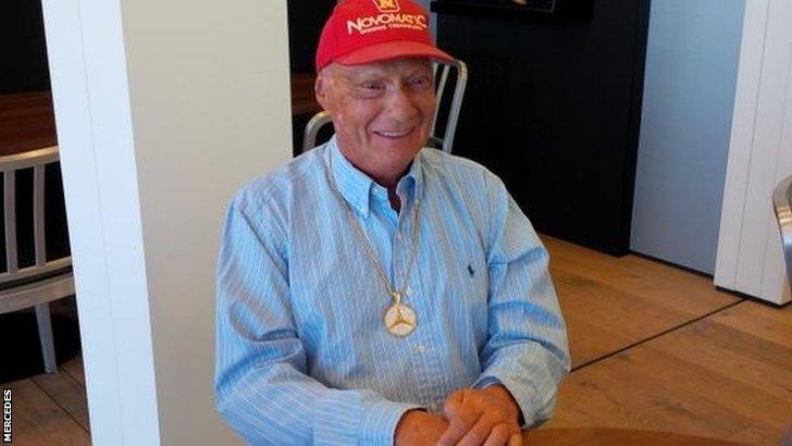 Mercedes boss Niki Lauda