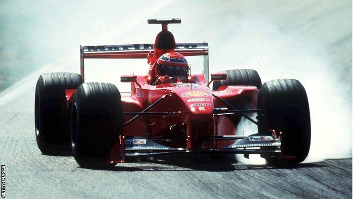 Eddie Irvine wins 1999 German Grand Prix