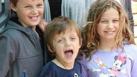 Mo Maslin, Otis Maslin and Evie Maslin, who died onboard Malaysia Airlines flight MH17