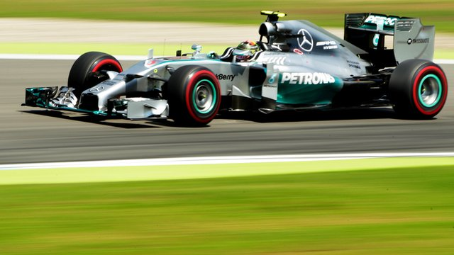 Nico Rosberg for Mercedes