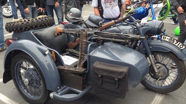 WW2 motorbike