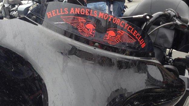 Hell's Angels bike