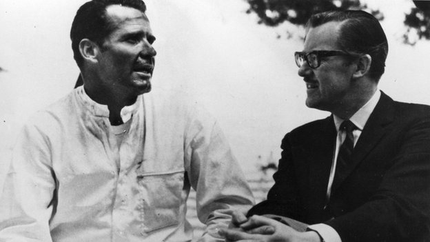 James Garner and Alan Whicker