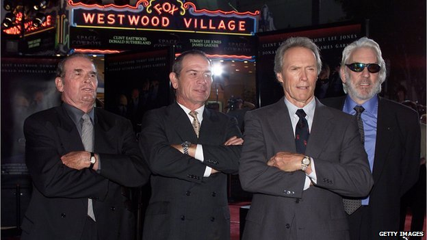 James Garner starred with Tommy Lee Jones, Clint Eastwood and Donald Sutherland