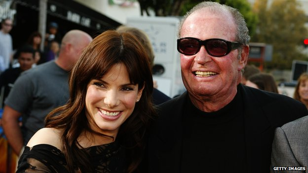 James Garner with Sandra Bullock