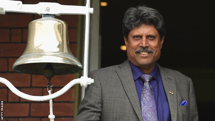 Former India all-rounder Kapil Dev