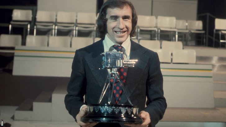 Jackie Stewart 1973 BBC Sports Personality of the Year winner