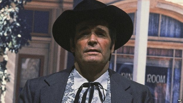 This photo of Garner as Maverick was taken in 1982