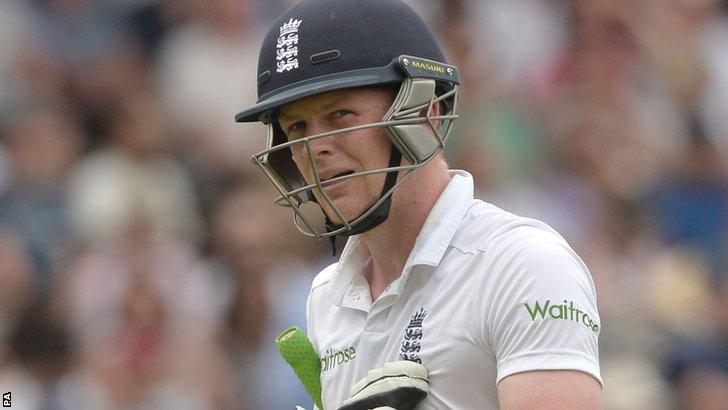 England's Sam Robson